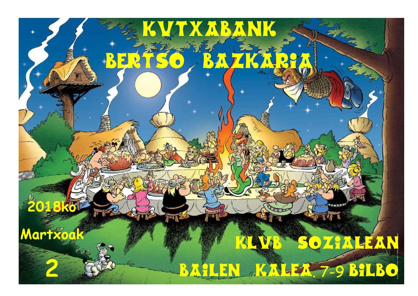 Bertso Bazkaria 2018 (Bilbao)
