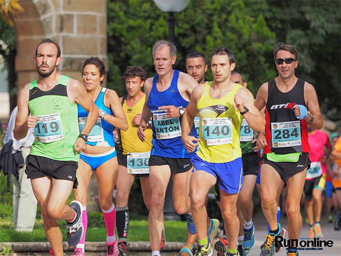 Medio Maraton Abel Anton 2017 Descripcion