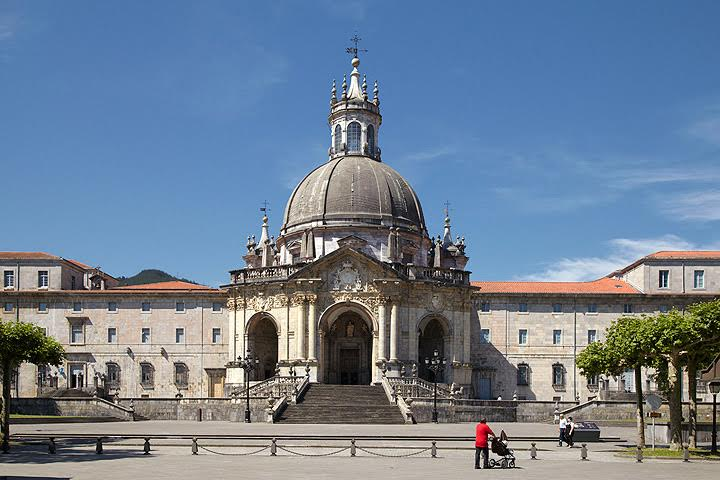 Basilica De Loyola, Loiola. Loyola, Azpeitia, Gipuzkoa, Guipuzcoa, Pais Vasco, Spain
