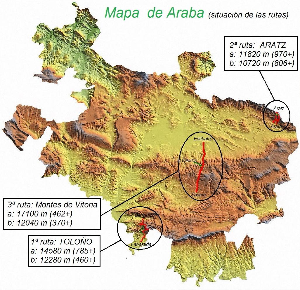 Arabako Mapa