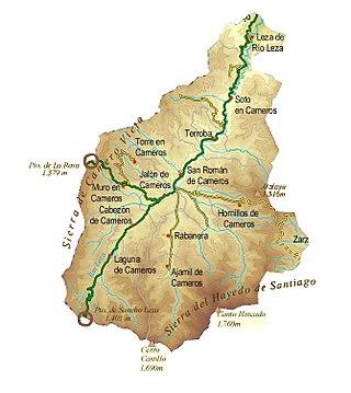 320px Mapa Físico Comarca Camero Viejo
