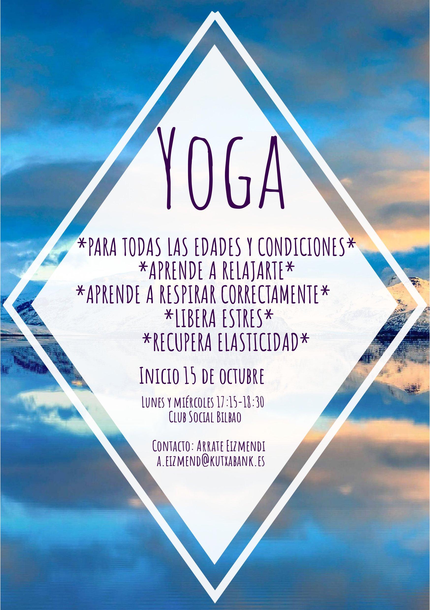 Yoga Ikastaroak 2018 Bilbon